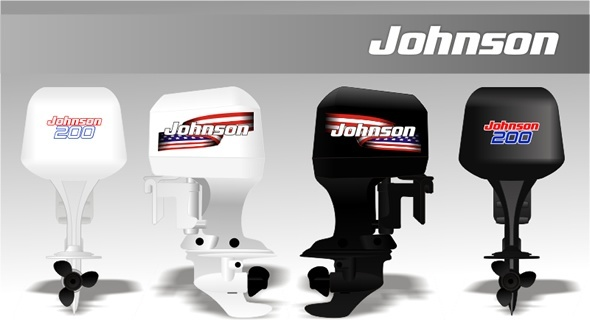 Johnson Outboard Decals Stickers Labels